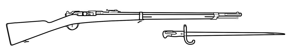 Rifle - 1874