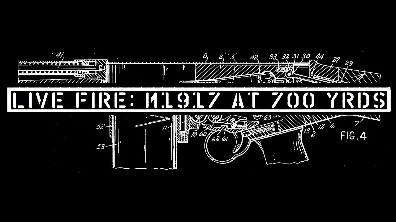 Live Fire: Shooting the M1917 at 700 Yards