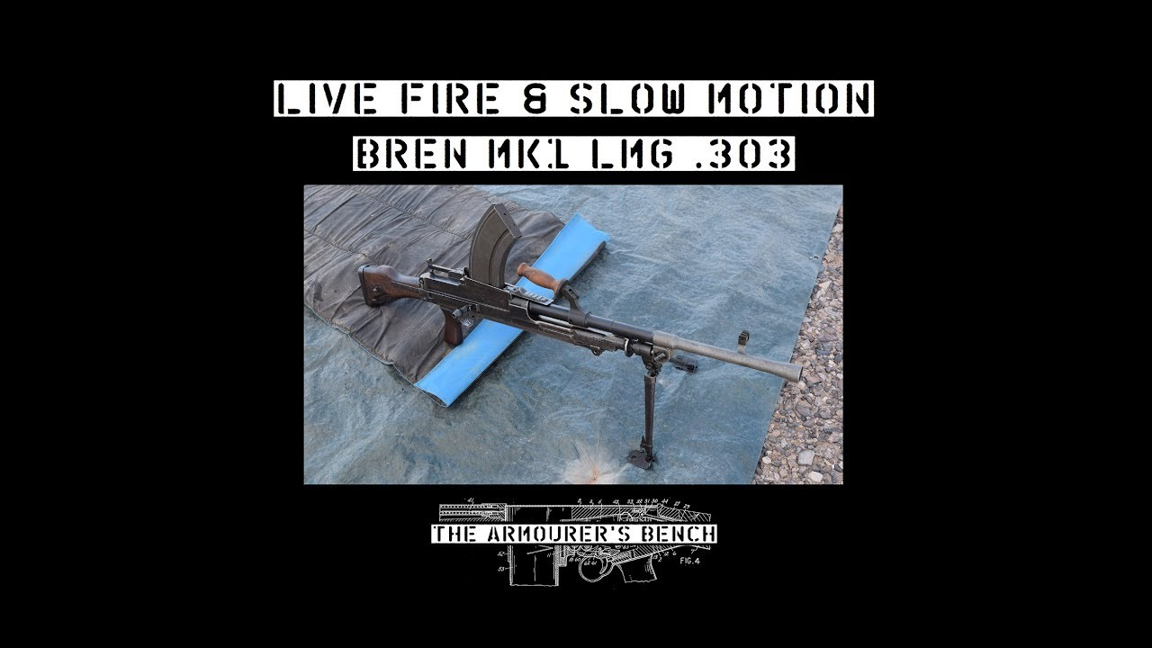 TAB Episode 45: Bren Mk1 Light Machine Gun Live Fire & Slow Motion