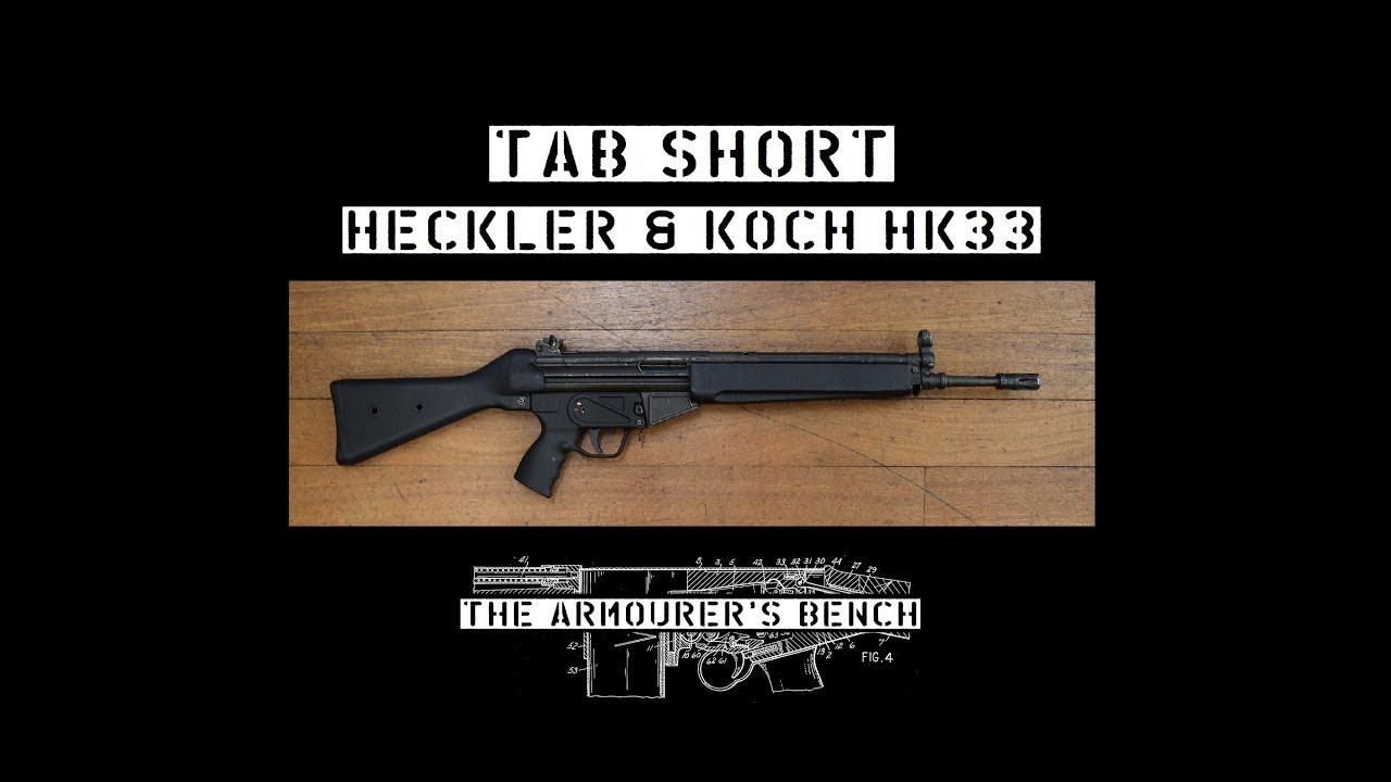 TAB Short: Heckler & Koch HK33