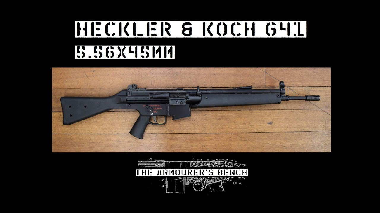 TAB Episode 38: Heckler & Koch G41