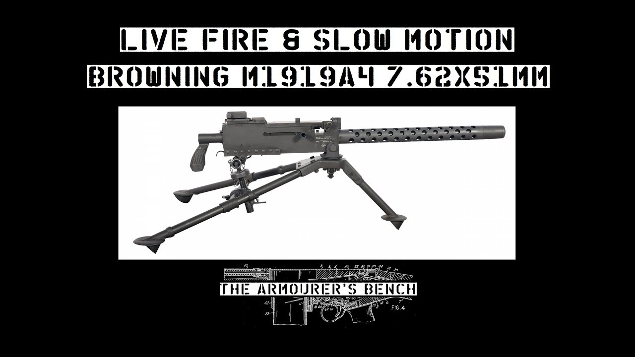TAB Episode 36: Browning M1919A4 Live Fire & Slow Motion