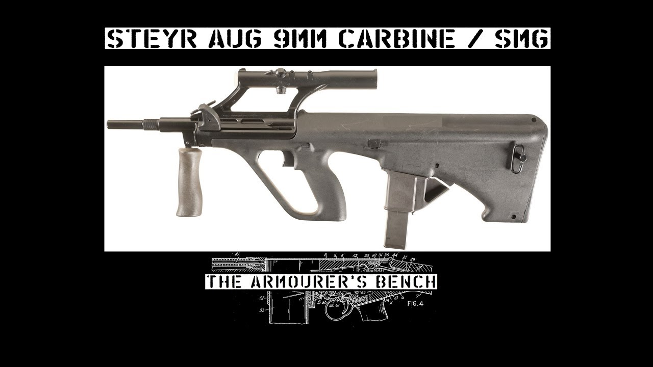TAB Episode 25: Steyr AUG 9mm SMG