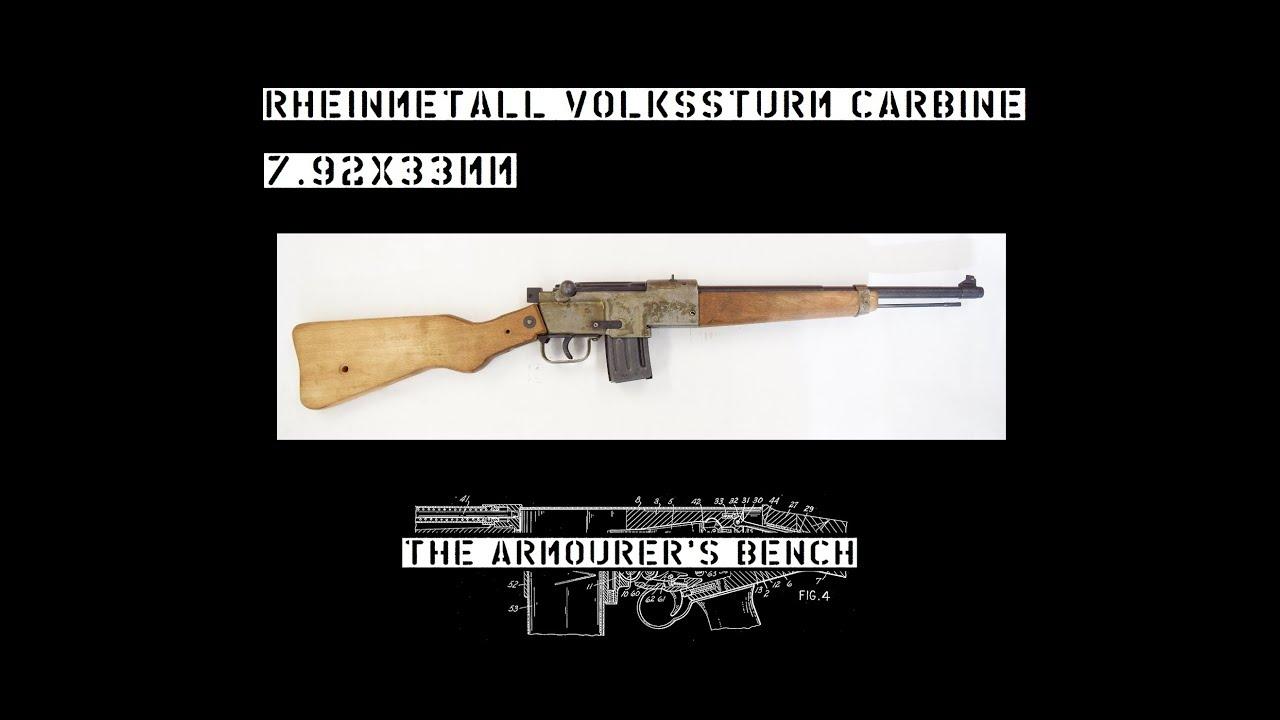 TAB Episode 23: Rheinmetall Volkssturm Carbine
