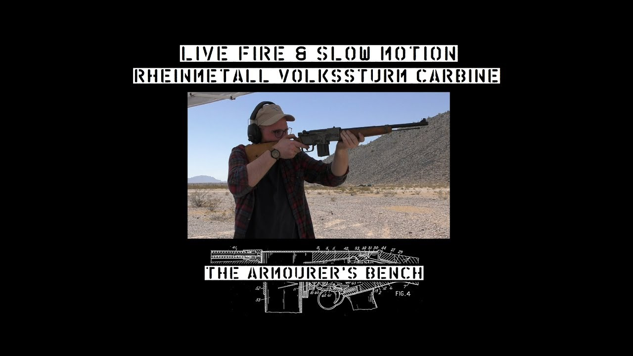 TAB Episode 21: Rheinmetall Volkssturm Carbine Live Fire