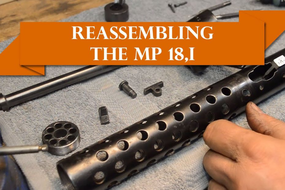 Anvil 057: How to assemble a mystery pile, finishing the MP.18