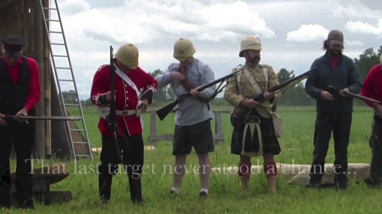 Opening Volleys, British Militaria Forum Alberta Shoot, 2014