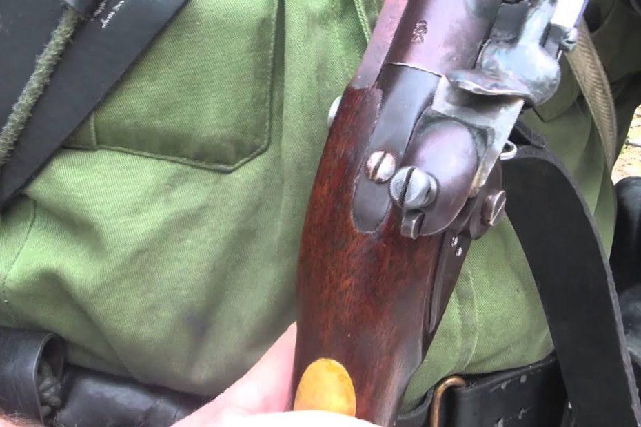 1800 Pattern Baker Rifle:  Flint and Lock Maintenance