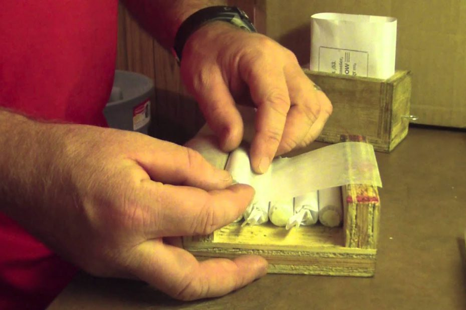 Packaging Pritchett Cartridges