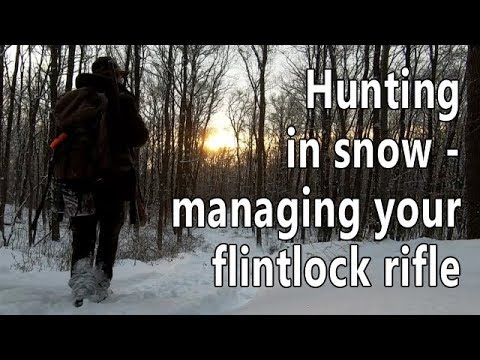 Hunting in snow – tuning your flintlock