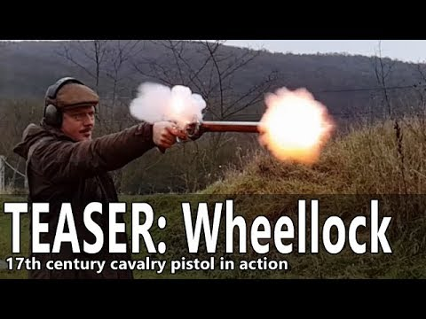 Wheellock pistol range time – TEASER