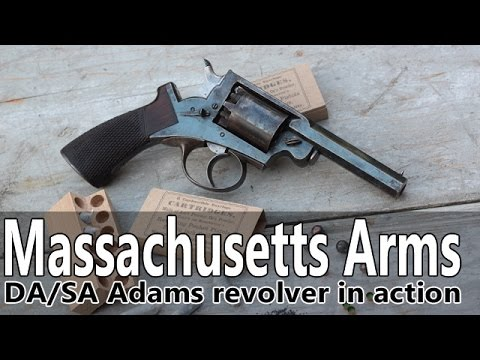 Shooting the Massachusetts Arms percussion revolver