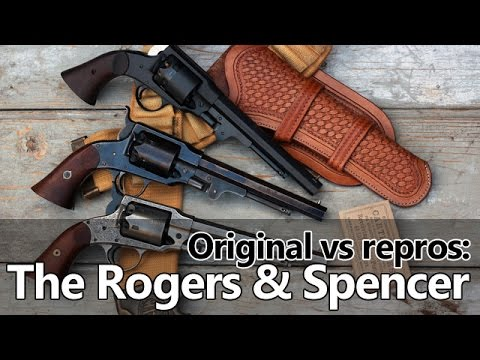 Rogers and Spencer percussion revolver – original vs repros