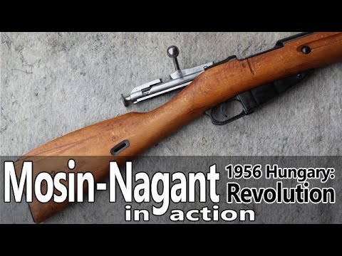 Mosin-Nagant 91/30 rifle in action – Guns of the 1956 Revolution Part IV