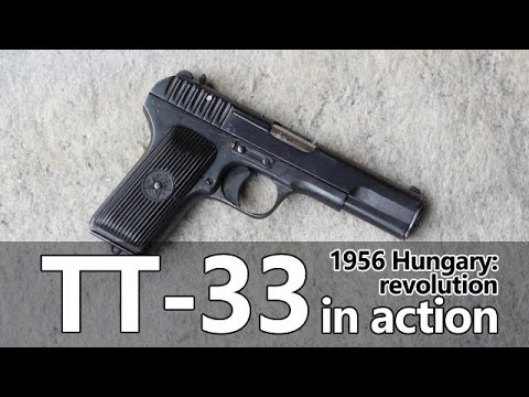TT-33 pistol in action – Guns of the 1956 Revolution Part III