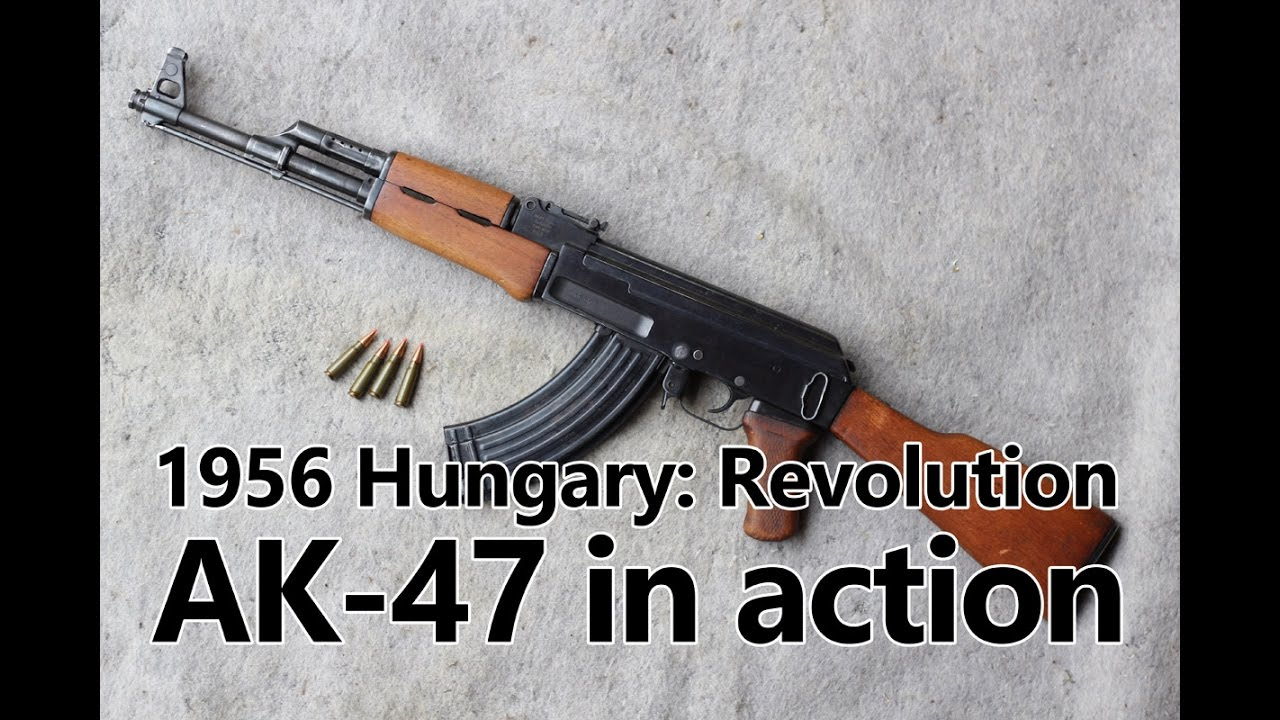 AK-47 Kalashnikov in action – Guns of the 1956 Revolution Part II