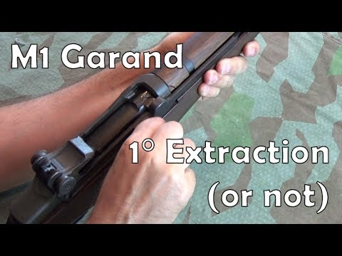 M1 Garand Primary Extraction… but not really.