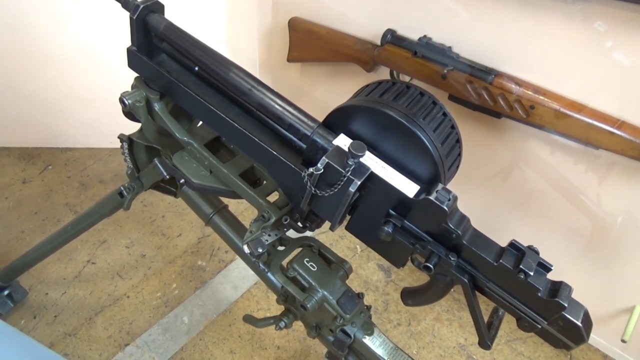 Extra Video: A Very Quick Look At All The Swiss WW2 Ground Machine Guns!
