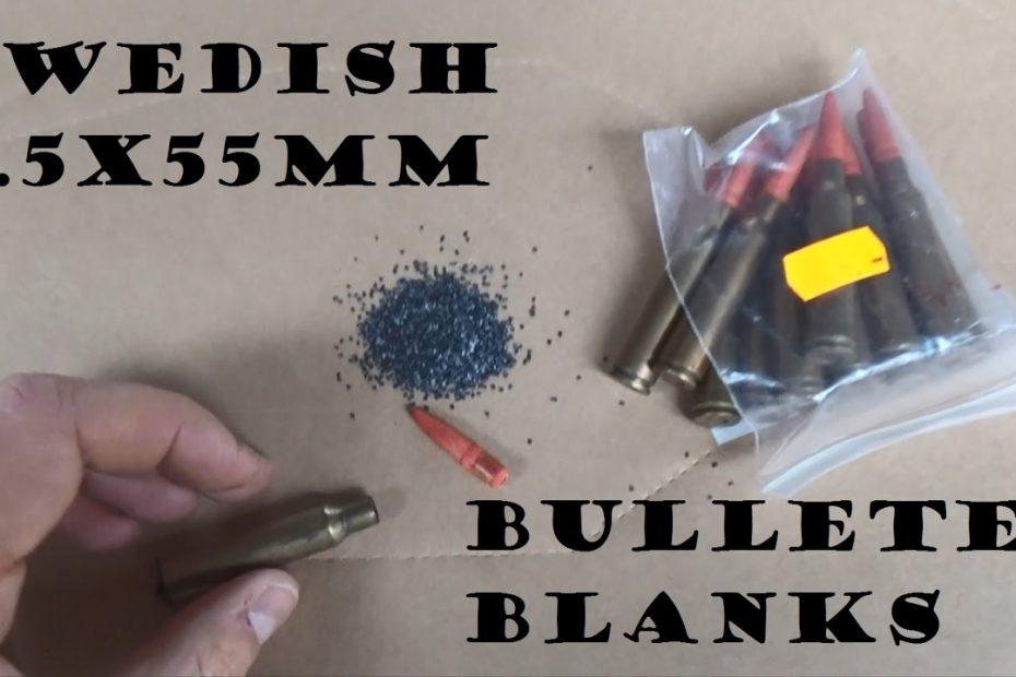 Bulleted Blanks Episode 3: 6.5x55mm Swedish Mauser
