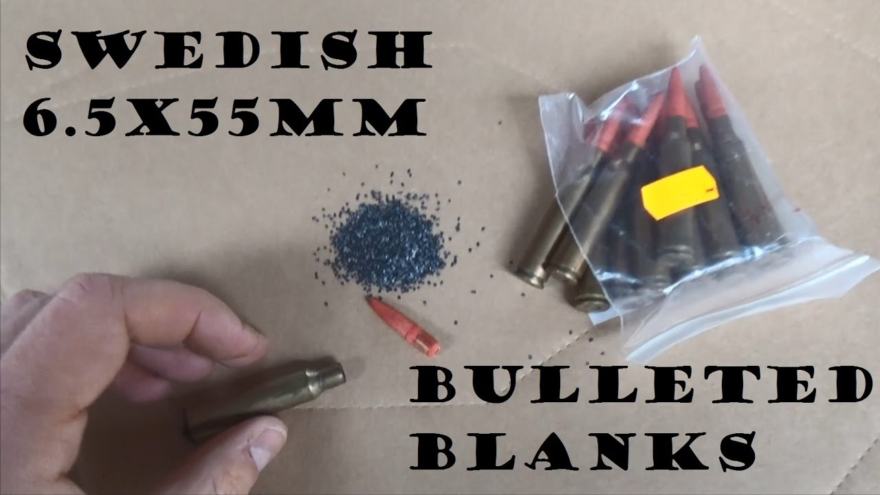 Bulleted Blanks Episode 3: 6.5x55mm Swedish Mauser