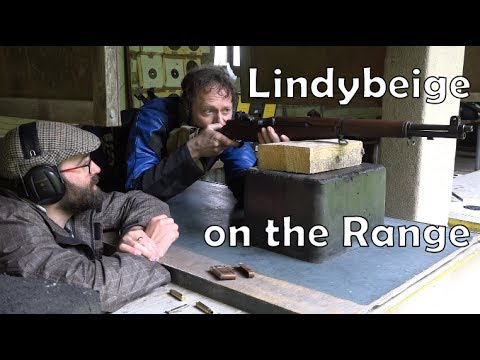 Beige on the Range: introducing Lindybeige to four WW2 rifles