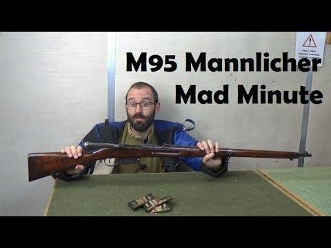 Mad Minutes: M95 Mannlicher Straight Pull 8x50R from Battlefield 1