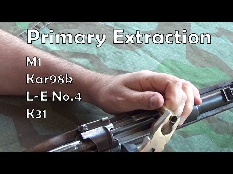 Primary extraction: A Blokesplainage with M1, Kar98k, Lee-Enfield No.4 and K31