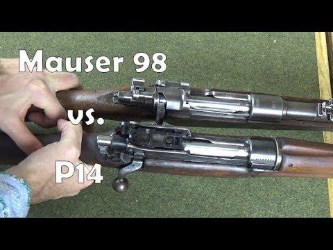 Mauser 98 vs. Enfield Pattern 14 Mechanical Comparison