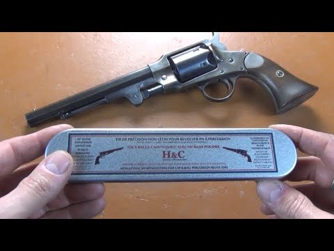 Indoor training kit for muzzleloading percussion revolvers: H&C Collection