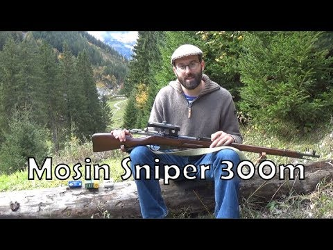 Mosin-Nagant PU Sniper: working with it at 300m