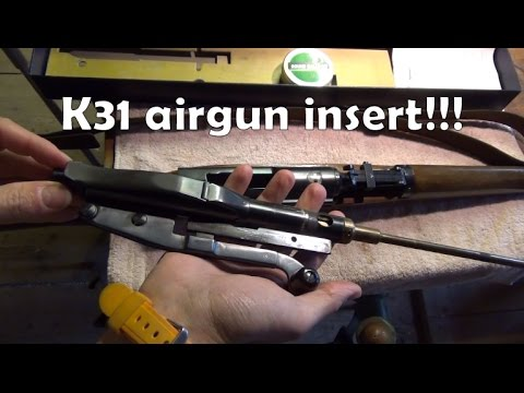 Swiss sub-calibre inserts #1: K31 airgun insert by Hämmerli