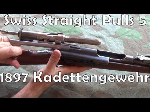 Swiss Straight-Pulls #5: 1897 Kadettengewehr