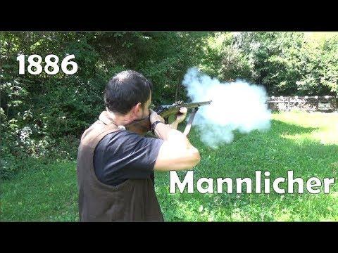 1886 Mannlicher straight-pull