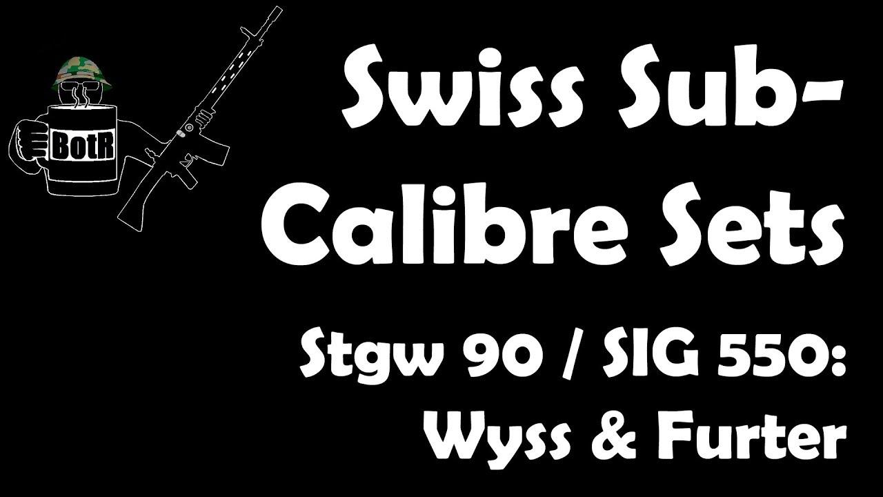 Swiss Sub-Calibre Systems: Stgw 90 / SIG 550