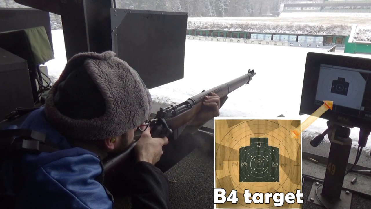 EXTRA VID: .303 Lee Enfield No.4 0.2″ large battle sight at 300m