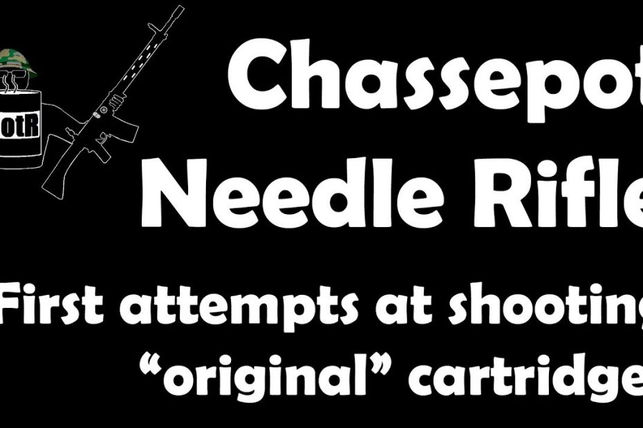 """Extra video: Chassepot M1866 needle rifle with """"original"""" cartridges!"""