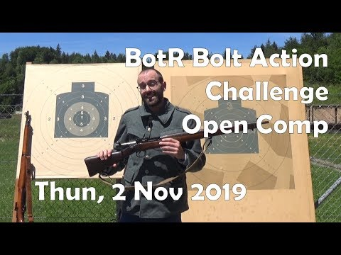BotR Bolt Action Challenge: Thun, 2 November 2019