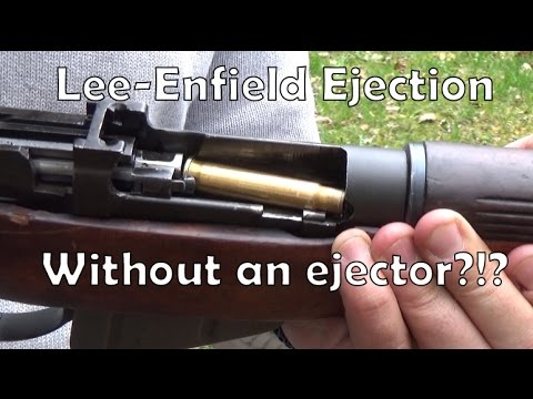 How does Lee Enfield ejection actually work?
