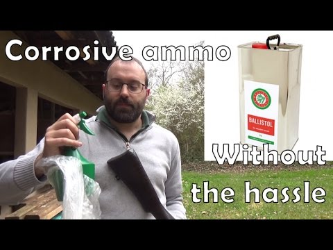 A quick and easy way to deal with corrosive ammo
