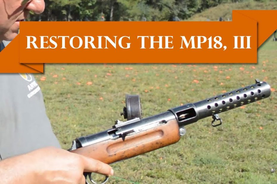 Anvil 045: Restoring the MP18 – Part III