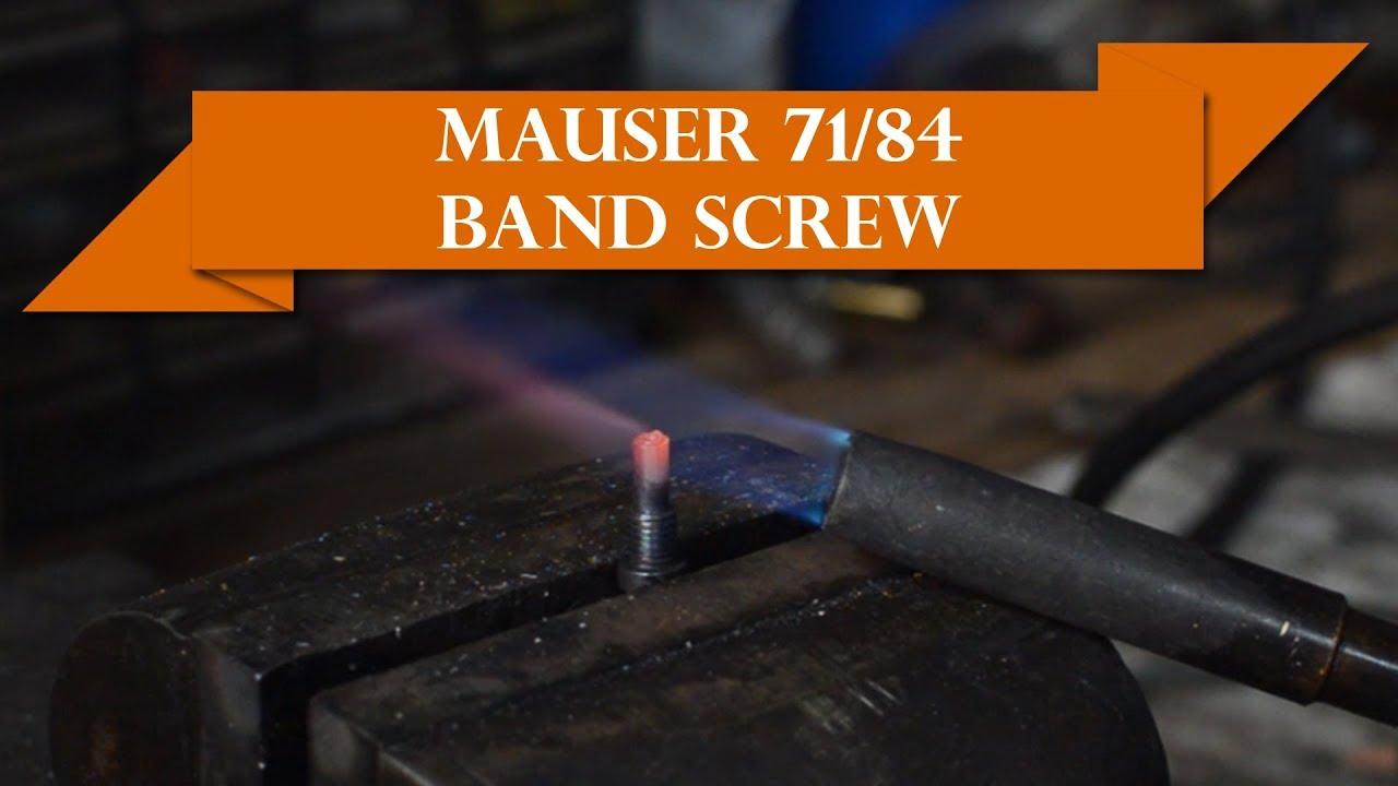 Anvil 034: Mauser 71/84 Captive Band Screw