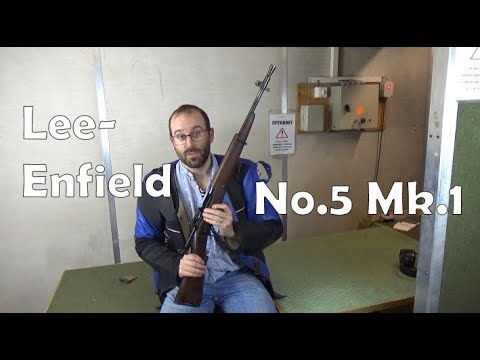 ".303 Lee Enfield Rifle No.5: ""Jungle Carbine"""