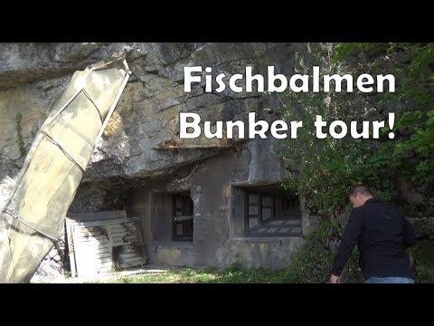A Swiss bunker tour: Fischbalmen