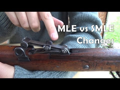 Long Lee-Enfield to Mk.III SMLE: some changes (but mostly the sights)