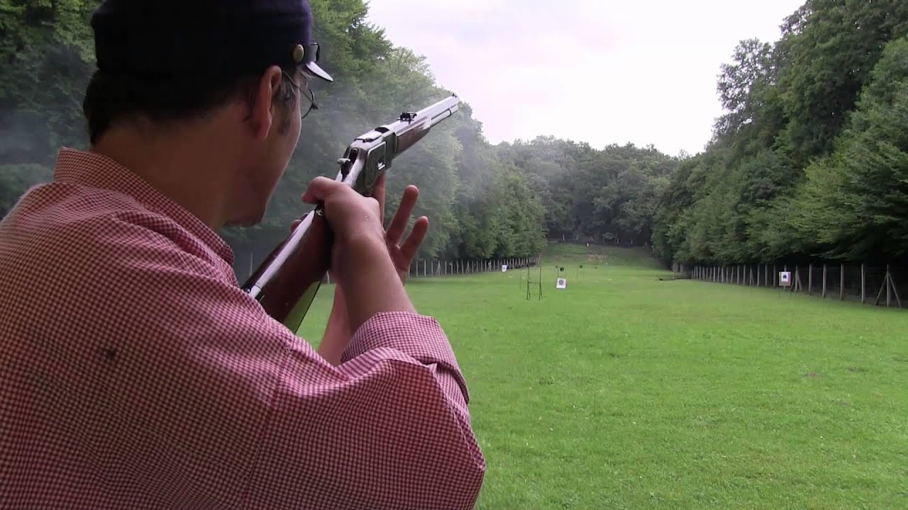 Another 1873 Winchester challenge: offhand shootig to 150 meters