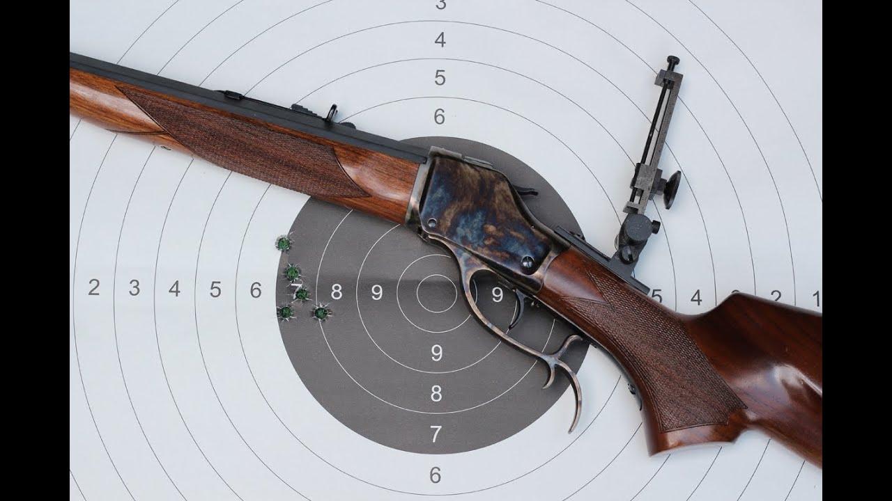 Shooting the Pedersoli High Wall rifle