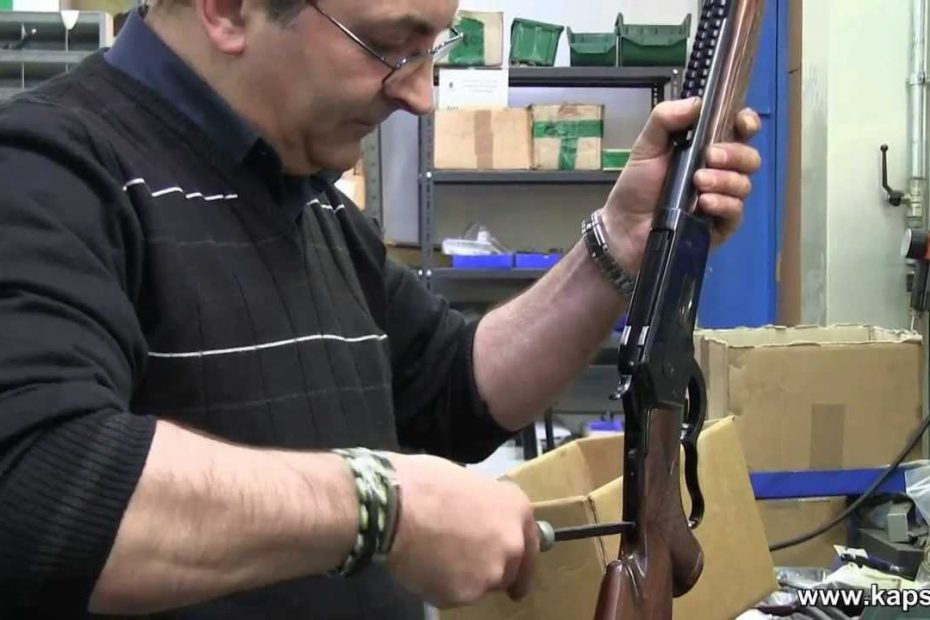 Disassembly of the Pedersoli 1886/71 lever action rifle