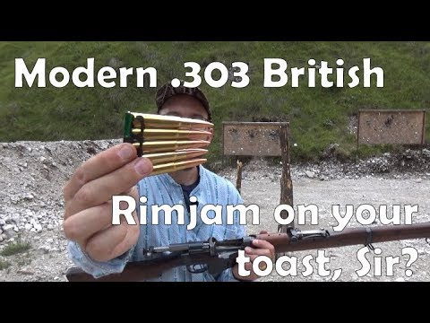 Yes, some modern .303 rimjams unless you treat it properly