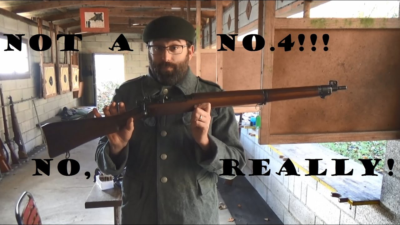 RARE Lee-Enfield No.7, .22 lr. Yes, SEVEN. Not a No.4!