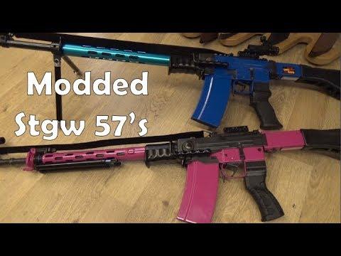 Souped-up Sturmgewehr 57's!